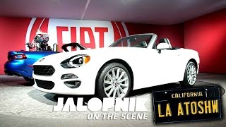 The Exhaust Notes Of The Fiat 124 Spider (Now With More Better)