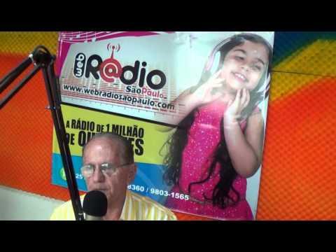 Entrevista com o Jornalista Liszt Madruga na Web Rádio São Paulo