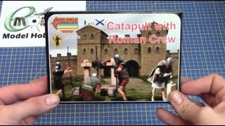 Available at eModels.co.uk Strelets 1/72 Catapult with Roman Crew. ...