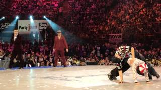 JUSTE DEBOUT 2014 Luna & Mr Split VS Funky-J & Vovan Quart de finale LOCK