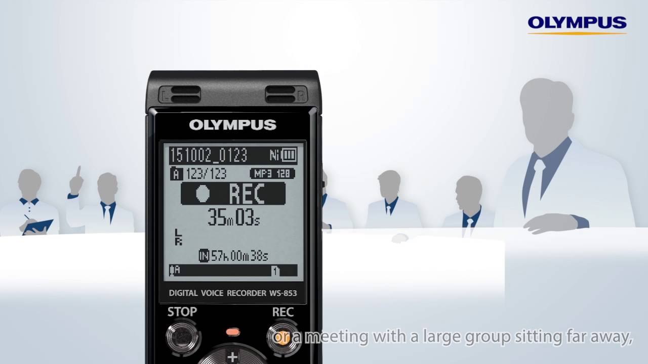 21414968d5c The Olympus WS-853 & WS-852 - YouTube