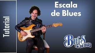 Como Tocar La Escala de Blues en Guitarra - Pentatónica Con Blue Note