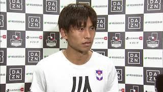 2017年9月9日(土)に行われた明治安田生命J1リーグ 第25節 新潟vs広...