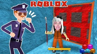Roblox: NINA BRICHT FROM PRISON FROM #2 - Police catch her by alarm | Prison Escape Simulator