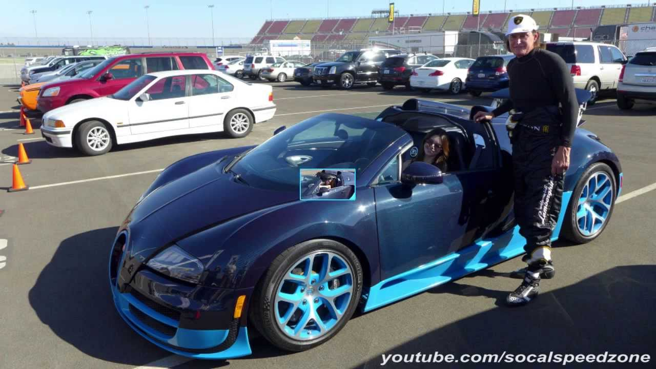 Kendall Jenner Taking A Bugatti Veyron For A Drive Youtube
