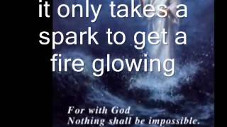 Pass it on- It only takes a spark (with subtitle)