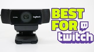 The BEST Webcam For Streaming -- Logitech C922 Review