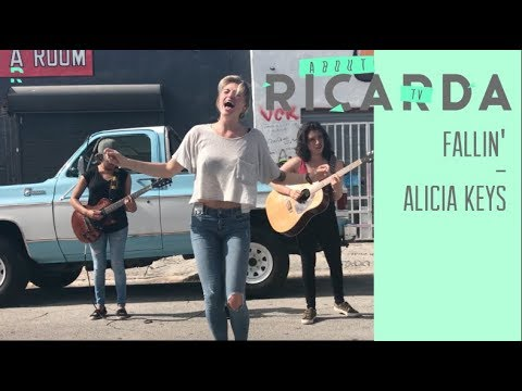 FALLIN' (ALICIA KEYS) - BY RICARDA feat. PAM + ISIS = A.K.A. SINNERGY