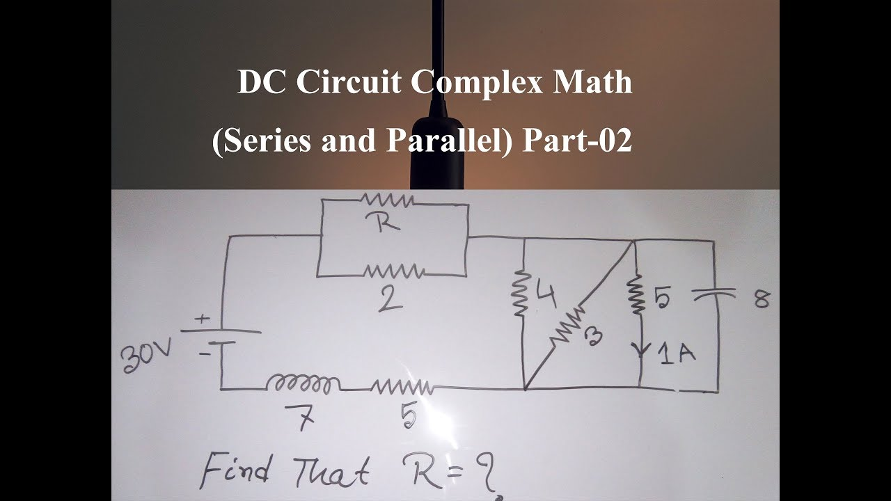 How To Analyze More Complex Series Parallel Circuits