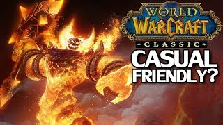 Is WoW Classic Casual Friendly?