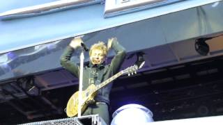 Download Bon Jovi - Rockin' All Over The World - Slane Castle Dublin - 15.06.13 MP3 song and Music Video