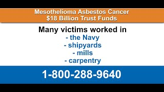 Lung Cancer From Exposure to Asbestos - 1-800-288-9640