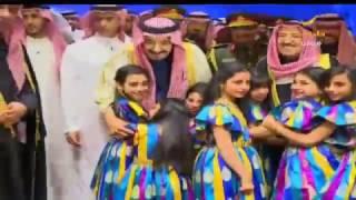 فيديو استقبال الملك سلمان في دار الأوبرا  في الكويت