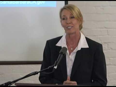 Santa Barbara Police Chief Lori Luhnow - SPANISH
