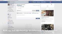 Inloggen facebook