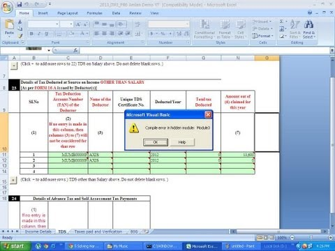 8 (SOLVED )Compile Error In Hidden Module Module 1/ 2/ 3 (Tax Query By Harmeet)
