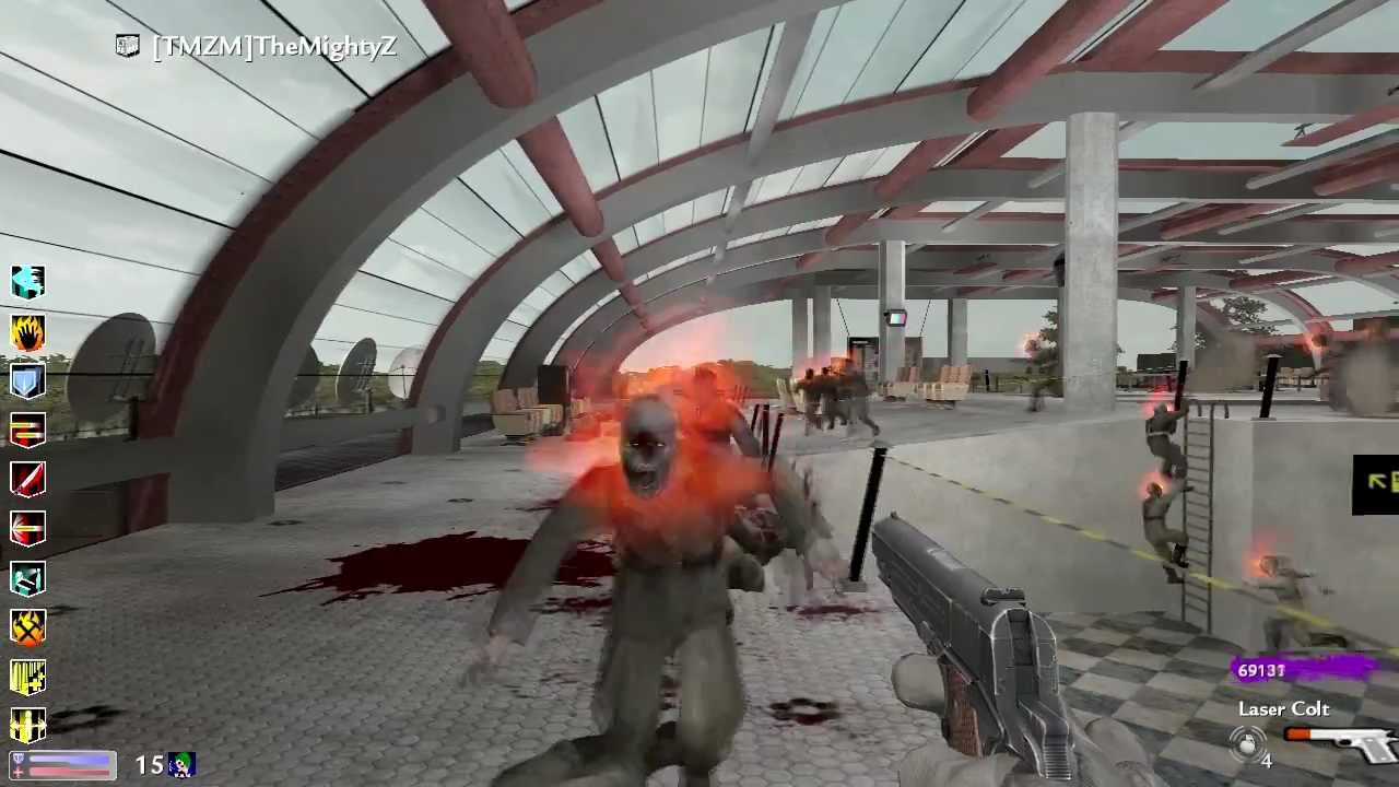 Aeroporto Waw : Call of duty waw custom zombies:airport completed youtube