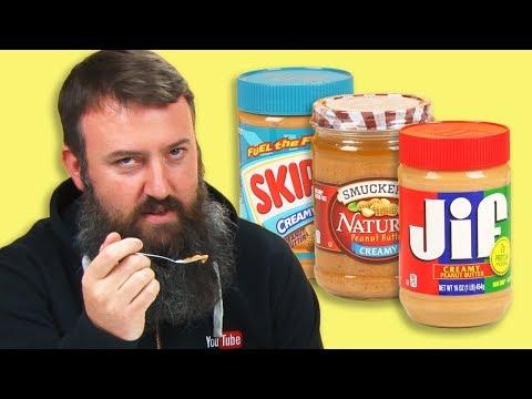 Irish People Taste Test American Peanut Butter