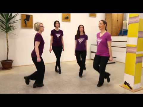 Wiesbaden tanzt! 2016 - Irish Dancing / Jazz Tap Flashmob Part 1