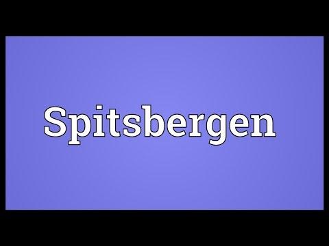 Spitsbergen Meaning