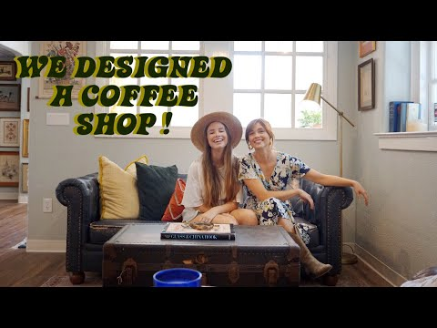 We Designed A Coffee Shop With 99% Secondhand, Thrifted, Vintage, Items!!