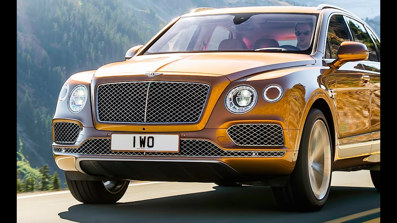 Bentley Bentayga REVIEW Bentley SUV 2016 Commercial Bentley SUV ...