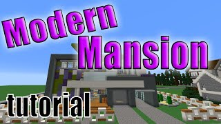 Minecraft How to build a Modern House | Easy step by step tutorial