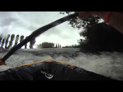 GoPro Canoeing: River Trip upper liffey