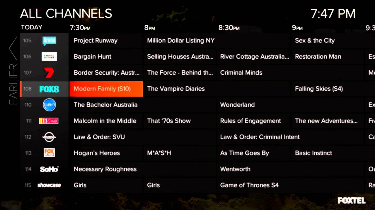 Foxtel Channels List Australia [Latest] [New] [Updated] [2019]