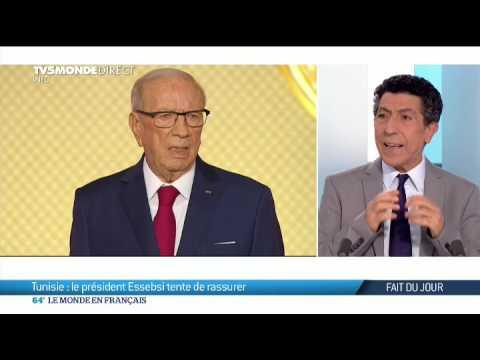 Tunisie : le président Essebsi tente de rassurer