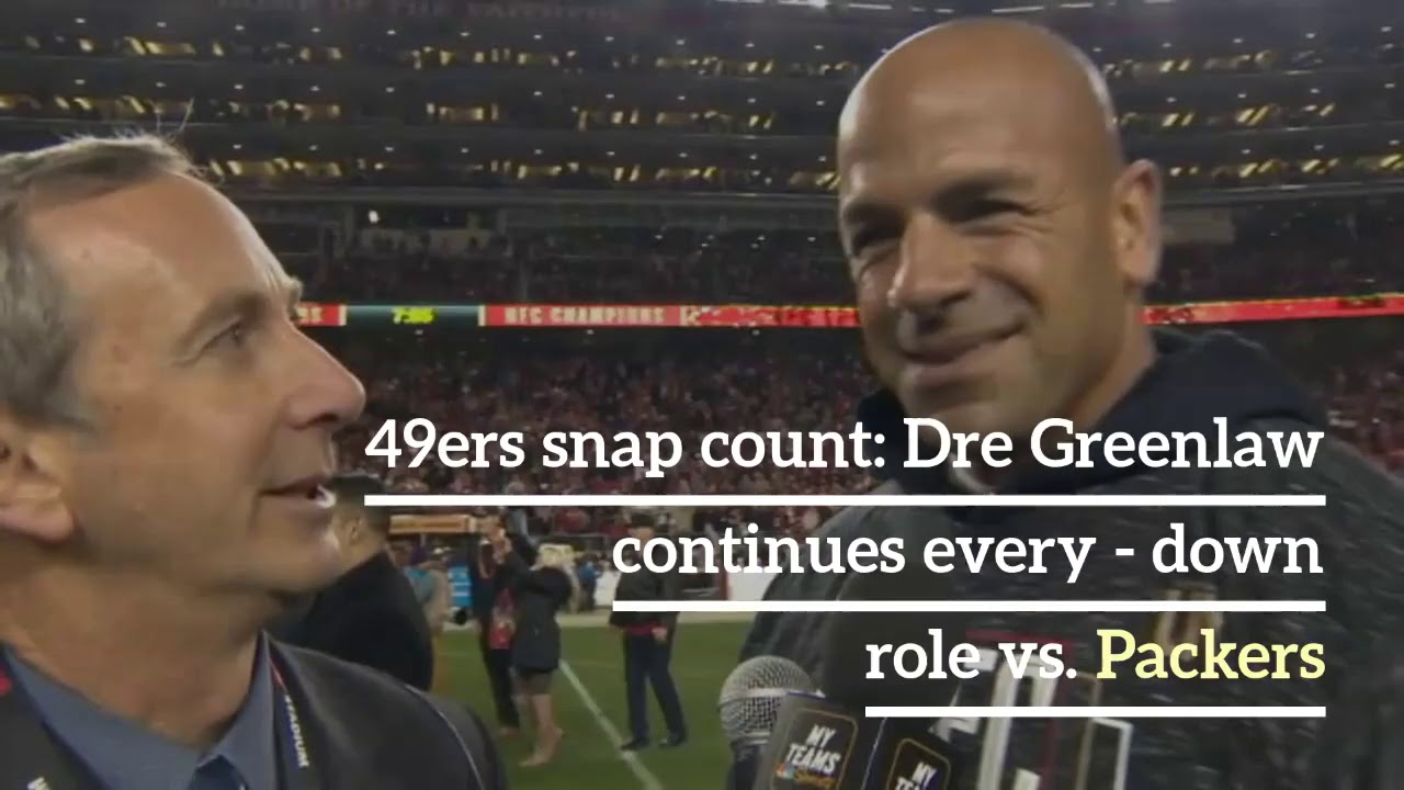 49ers snap count: Dre Greenlaw continues every-down role vs ...