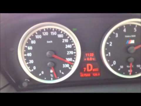 BMW M5 Top Speed 100-336km/h (Autobahn) - YouTube