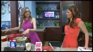 "Chef Melody Talking ""ultimate Easter Brunch Ideas"" On Fox 5 News"