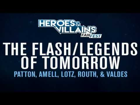 Flash/Legends of Tomorrow Crossover Panel @ Heroes & Villains Fan Fest NY/NJ 2017