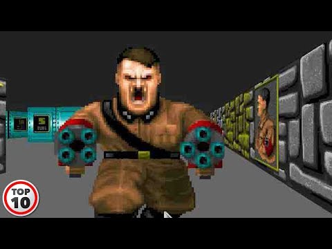 Top 10 Video Games That Have Hitler In It