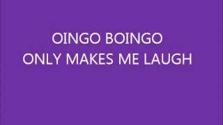 Oingo Boingo- Only Makes Me Laugh