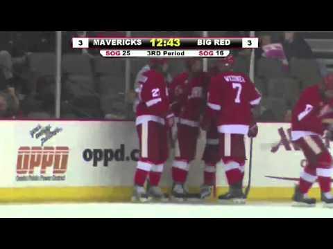 Highlights: Men's Ice Hockey at Nebraska-Omaha - 10/25/13 & 10/26/13