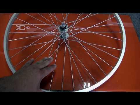 Arco con rueda de bicicleta