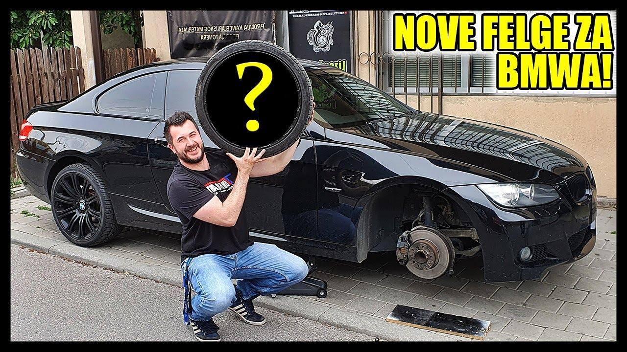 NOVE FELGE ZA BMW-A! KUPITI ILI TRAZITI DALJE?