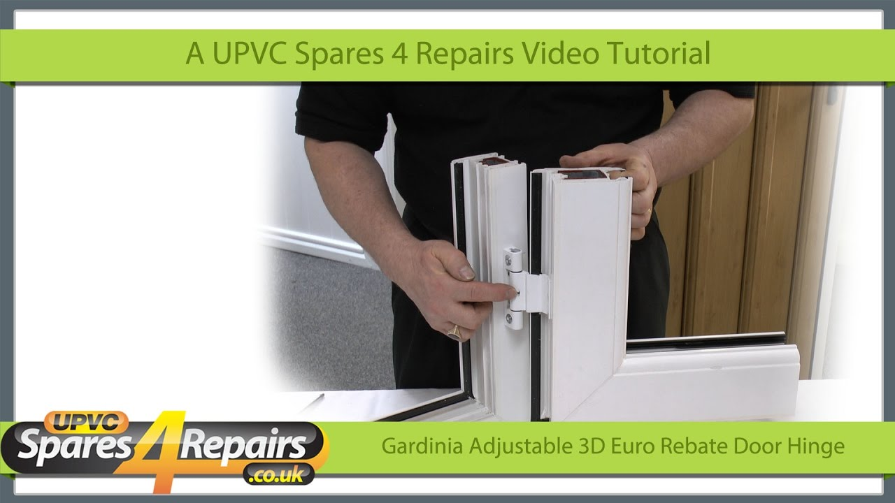 Fitting The Gardinia Adjustable 3d Euro Rebate Door Hinge