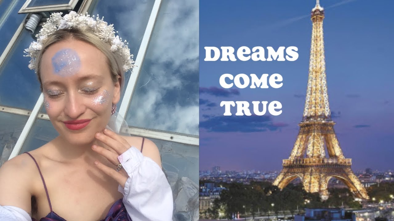 day in my life in Paris, France VLOG | manifesting dreams under the full moon 🌙