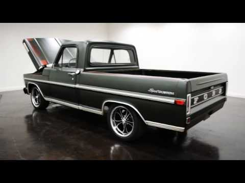 1971 Ford F100 Swb Pickup Youtube
