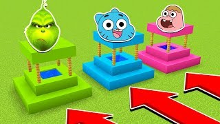 DO NOT CHOOSE THE WRONG WELL(GRINCH, GUMBALL, CLARENCE) (Ps3/Xbox360/PS4/XboxOne/PE/MCPE)