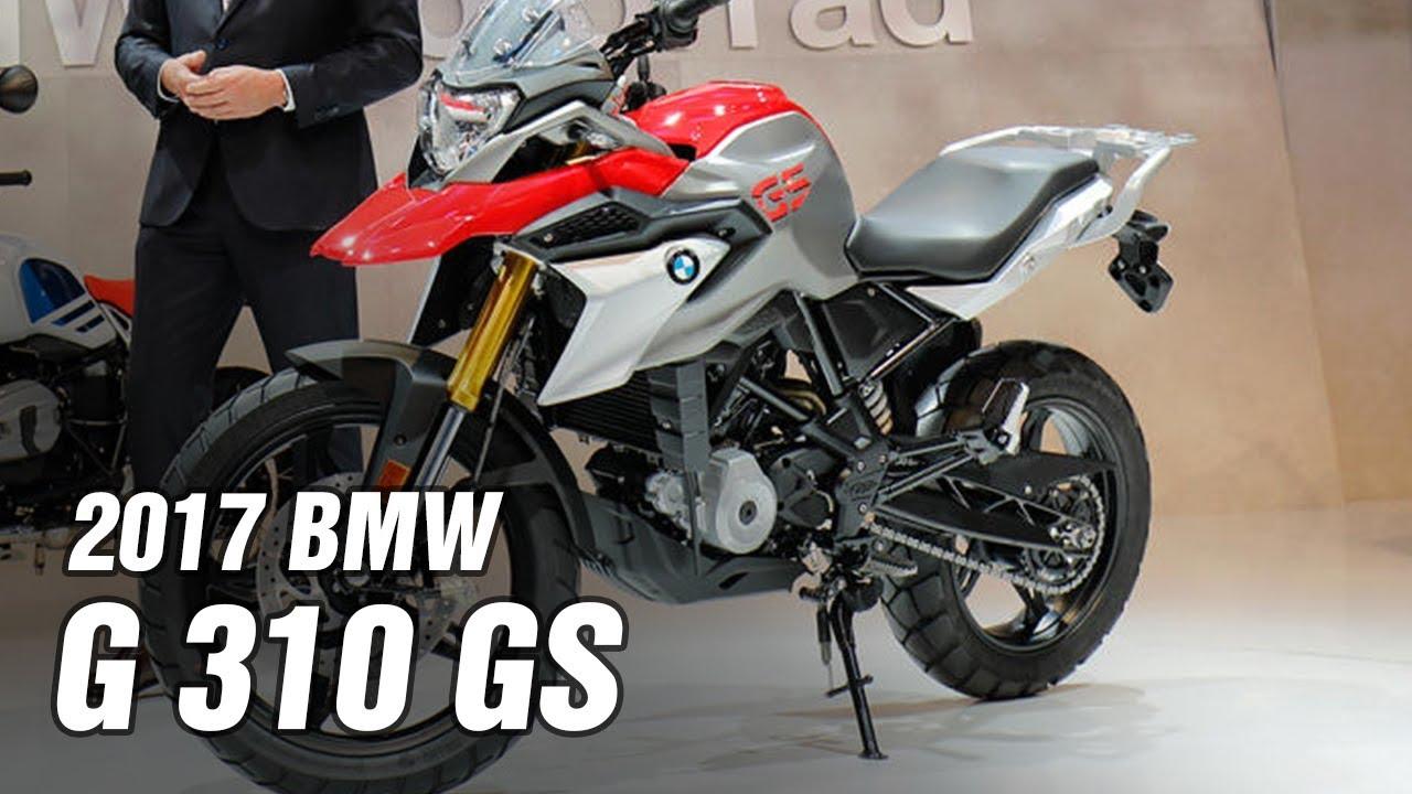 2017 Bmw G 310 Gs Spec Youtube