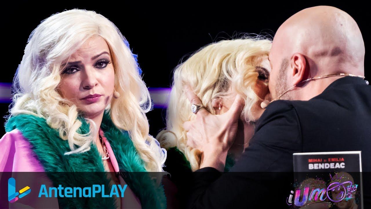Gina Felea a oferit sărutul sezonului! ? Când a urcat pe scenă, Mihai nu a mai rezistat! | iUmor