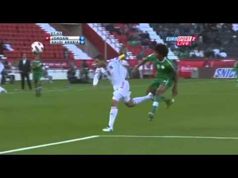 Jordan vs. Saudi Arabia - AFC Asian Cup 2011 - 1st Half