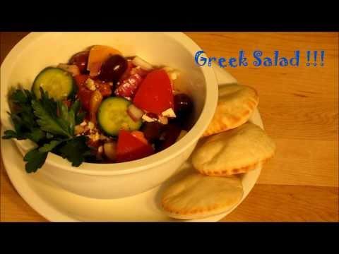 Greek Salad Recipe - Bonus Kitteh Cuteness Overload