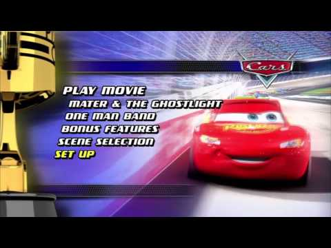 Cars 1 - DVD Menu [HQ]