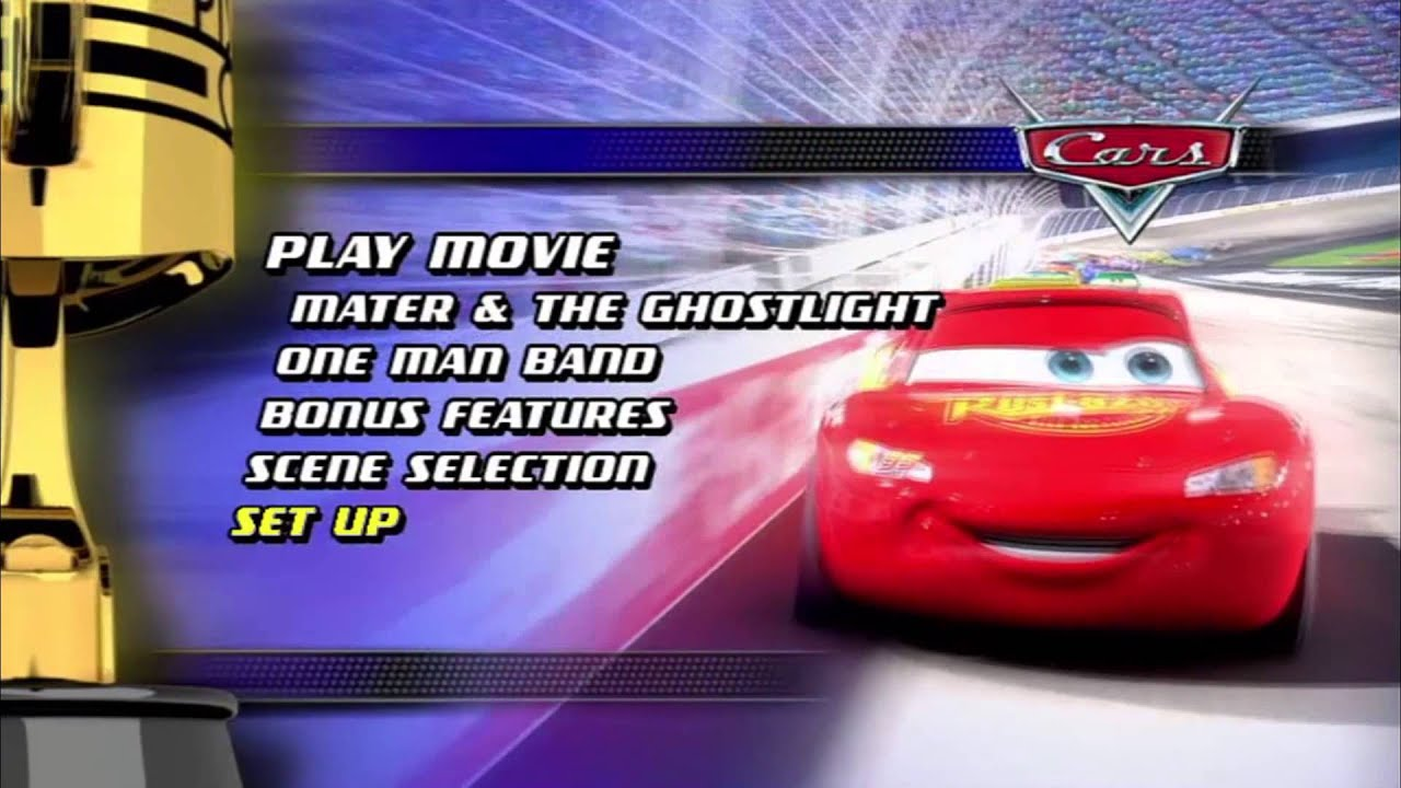 cars 1 dvd menu hq doovi. Black Bedroom Furniture Sets. Home Design Ideas