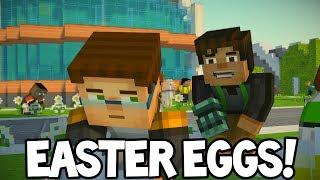 Minecraft Story Mode: Season 2 - NEW EASTER EGGS!